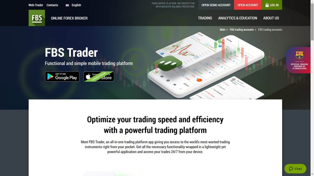 fbs trader features