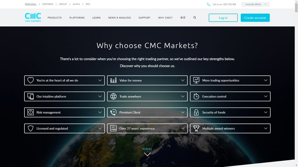 why should you choose cmc markets