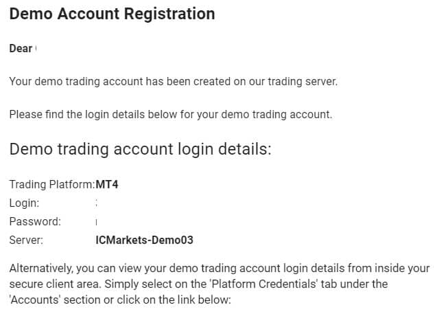 Ic markets sign-in procedure summary