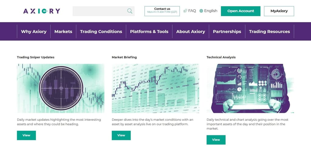 All the articles you can find with Axiory